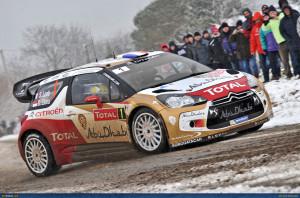 WRC-Monte2013-Citroen-Loeb-01